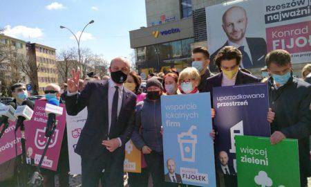 konrad fijołek rzeszów ekologia wybory prezydent