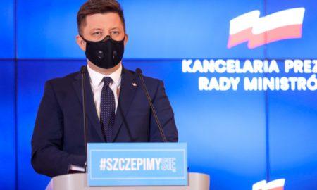 Dworczyk: Wszyscy pełnoletni Polacy od niedzieli mogą rejestrować się na szczepienie przeciw COVID-19 1
