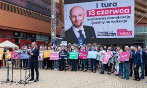 konrad fijołek kampania wybory rzeszów prezydent