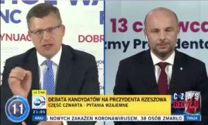 marcin warchoł konrad fijołek debata rzeszów wybory